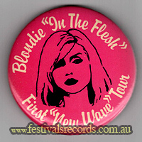 Blondie In the Flesh Pin