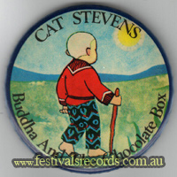 Cat Stevens Buddha Pin
