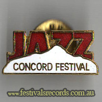 Concord Jazz Pin