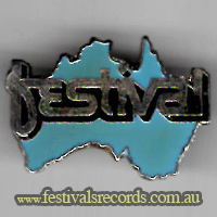 Festival Records pin
