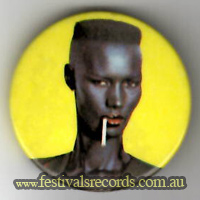 Grace Jones yellow Buttons