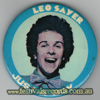 Leo Sayer Just a Boy Pin