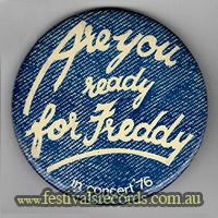 Ready Freddy Pin