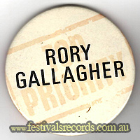 Rory Gallagher Pin
