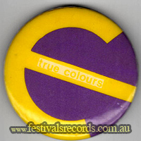 Split Enz True Colours Pin