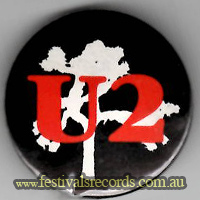 U2 Joshua Tree Button